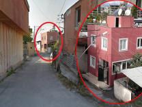 Mersin'deki 'gizemli ev' Google haritalarda