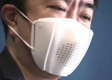 8 dilde çeviri yapabilen akıllı maske