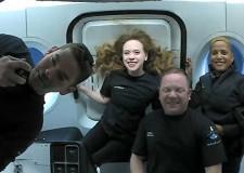 Uzay turistlerinden ilk fotoğraflar