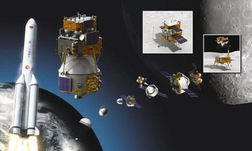 Çin Ay'ın karanlık yüzüne araç fırlattı
