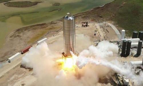 Mars'a gönderilecek uzay gemisinin prototipi başarıyla fırlatıldı