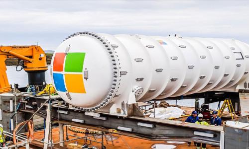 Microsoft'un denizin dibine veri saklama deneyi başarılı oldu
