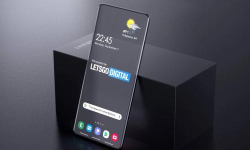 Samsung'dan göze çarpan şeffaf telefon patenti