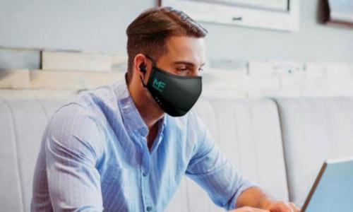 Kablosuz kulaklıklı maske üretildi