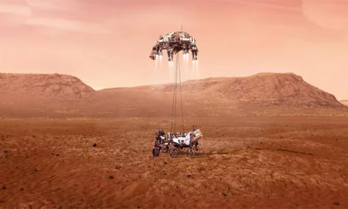 NASA'nın uzay aracının Mars'a bugün inmesi bekleniyor