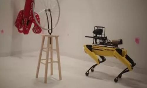 Boston Dynamics'in köpek robotu silahlandı