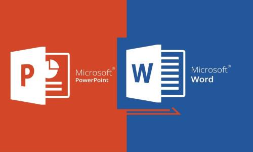 Microsoft Word ve PowerPoint için yeni aktarma özelliği