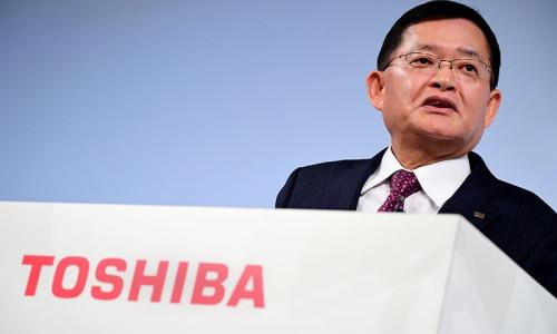 Toshiba CEO'su Kurumatani görevinden ayrıldı