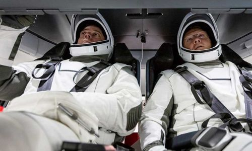 SpaceX'in uzay görevinde 'UFO' alarmı