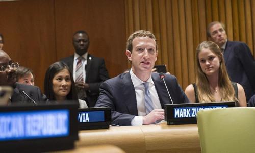Zuckerberg rakip uygulamayı kullanıyor