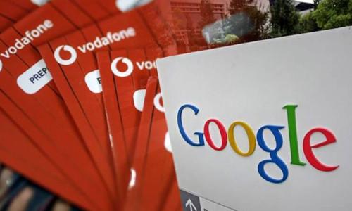 Vodafone ve Google veri analizi konusunda işbirliği yapmayı planlıyor