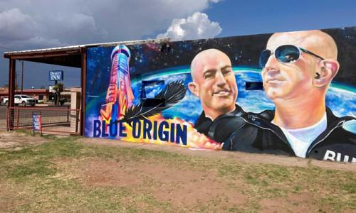 Bezos'un tarihi uzay yolculuğu!