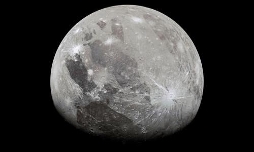Jüpiter'in uydusu Ganymede'de su buharı bulundu