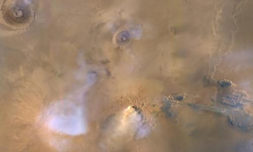 Küçük kum fırtınalarının bile Mars'ı kuraklaştırdığı keşfedildi